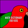 math dictionary for kids