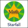 photo of starfall math