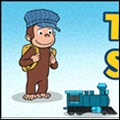 photo of curious george trains