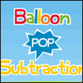 photo of balloon pop subtraction