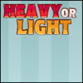 photo of heavy or light
