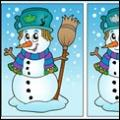 snowman find differences